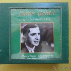 CDs de Música: CARLOS GARDEL, LA MUSICA EL MEJOR REGALO. SIN ABRIR.. Lote 46294914