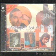 CDs de Música: ENRIQUE MONTOYA CON SABICAS, PACO DE LUCIA, MANOLO SANLUCAR. CD-FLA-566. Lote 227241450