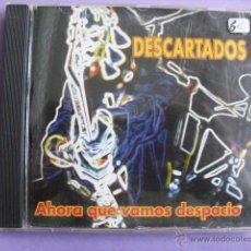 CDs de Música: DESCARTADOS. AHORA QUE VAMOS DESPACIO. CD.. Lote 46300453