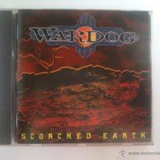 CDs de Música: WARDOG - SCORCHED EARTH. Lote 46307139