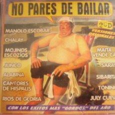 CD de Música: NO PARES DE BAILAR. 2 CD.. Lote 46307185