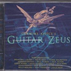 CDs de Música: CARMINE APPICE'S GUITAR ZEUS - CD PRECINTADO. CON SLASH, BRIAN MAY, TED NUGENT, Y. MAALMSTEEN ETC. Lote 254217095