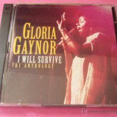 CDs de Música: GLORIA GAYNOR. I WILL SURVIVE. THE ANTHOLOGY. 2 CD. PRECINTADO.. Lote 46361807