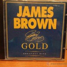 CDs de Música: JAMES BROWN. GOLD. GREATEST HITS. CD / UNIVERSAL - 2000. 21 TEMAS. MUY BUENA CALIDAD.. Lote 46369623