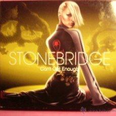 CD de Música: STONEBRIDGE. CAN´T GET ENOUGH. 2 CD.. Lote 46373969