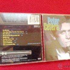 CDs de Música: PETER CETERA - SOLITUDE/SOLITAIRE - CD ALBUM. Lote 46375028