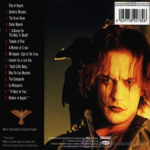 CDs de Música: THE CROW: CITY OF ANGELS / Graeme Revell CD BSO - Foto 2 - 41358862