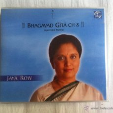 CDs de Música: CD 6-JAYA ROW-BHAGAVAD GITA CH 8. Lote 46383993