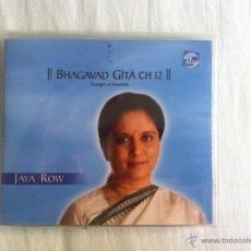 CDs de Música: CD 5-JAYA ROW-BHAGAVAD GITA CH 15 A. Lote 46384105
