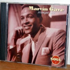 CDs de Música: MARVIN GAYE - MIDNIGHT LOVE (CD + FASCICULO). Lote 143044145