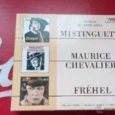 CDs de Música: ETOILES DU MUSIC HALL : MISTIGUET+MAURICE CHEVALIER+FREHEL - EDICIÓN LIMITADA - CD ALBUM. Lote 46409009