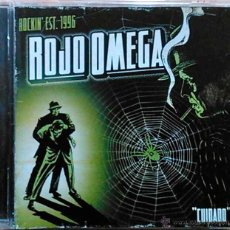 CDs de Música: ROJO OMEGA, ROCKIN' EST. 1996 - OMEGA - CD AUTOGRAFIADO POR MIEMBROS DE LA BANDA. Lote 46412548