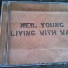 CDs de Música: NEIL YOUNG LIVING WITH WAR. Lote 46432553