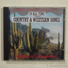 CDs de Música: LITTLE JOHNY & THE LONESOME RIDERS - 20 ALL TIME COUNTRY & WESTERN SONGS - CD 1989. Lote 46435550