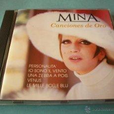 CDs de Música: CD MINA - CANCIONES DE ORO - DIVUCSA - 1991 - SPAIN. Lote 46437157