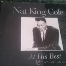 CDs de Música: NAT KING COLE AT HIS BEST. Lote 46451058