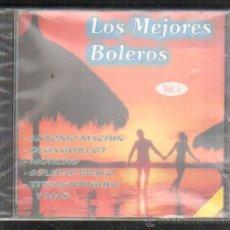 CDs de Música: LOS MEJORES BOLEROS. VOL. 1. CD-VARIOS-717,5. Lote 49777539