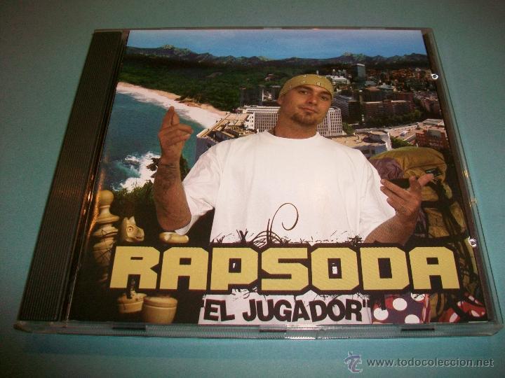 RAPSODA - EL JUGADOR - CD NUEVO - RAP - HIP HOP - ESPAÑOL (Música - CD's Hip hop)