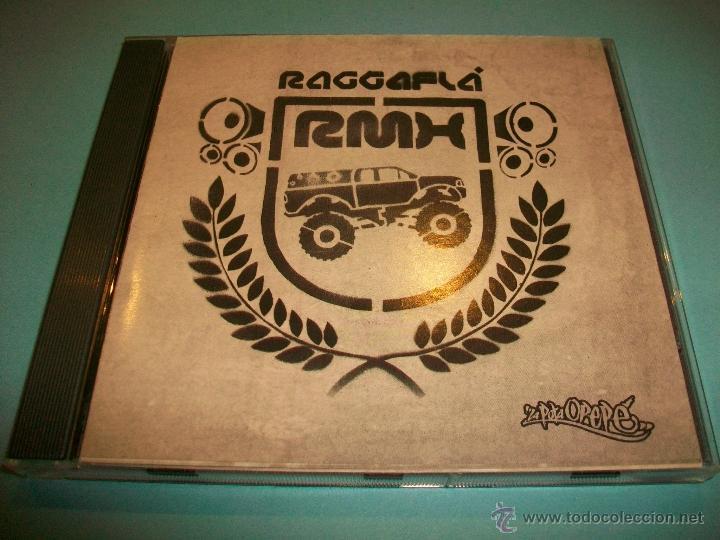 RAGGAFLÁ RAGGAFLA - RMX - CD COMO NUEVO - RAP - HIP HOP - ESPAÑOL (Música - CD's Hip hop)