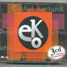 CDs de Música: EUSKAL KANTURIK ONENA. 3 DCS. AÑO 2005. PAÍS VASCO.. Lote 152832832