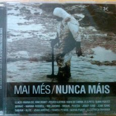 CDs de Música: MAI MÉS, NUNCA MÁIS. SABINA, SERRAT, AUTE, LLACH, SOPA DE CABRA, QUIMI PORTET,MILLADOIRO... CD NUEVO. Lote 252276690