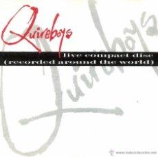CDs de Música: QUIREBOYS - LIVE CD - CD. Lote 46552479
