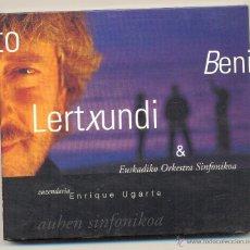 CDs de Música: BENITO LERTXUNDI Y EUSKADIKO ORKESTRA SINFONIKOA- 1 DC. AÑO 1998. PAÍS VASCO.. Lote 46558928