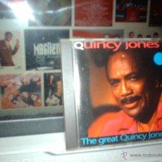 CDs de Música: QUINCY JONES - THE GREAT QUINCY JONES - CD 1993. Lote 46583328