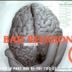 CDs de Música: BAD RELIGION - IFECTED - THIS IS PART ONE OF THE TWO CD- DIGIPAK. Lote 46590167
