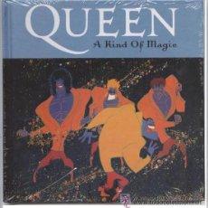 CDs de Música: QUEEN A KIND OF MAGIC DISCO + LIBRO. Lote 46599914