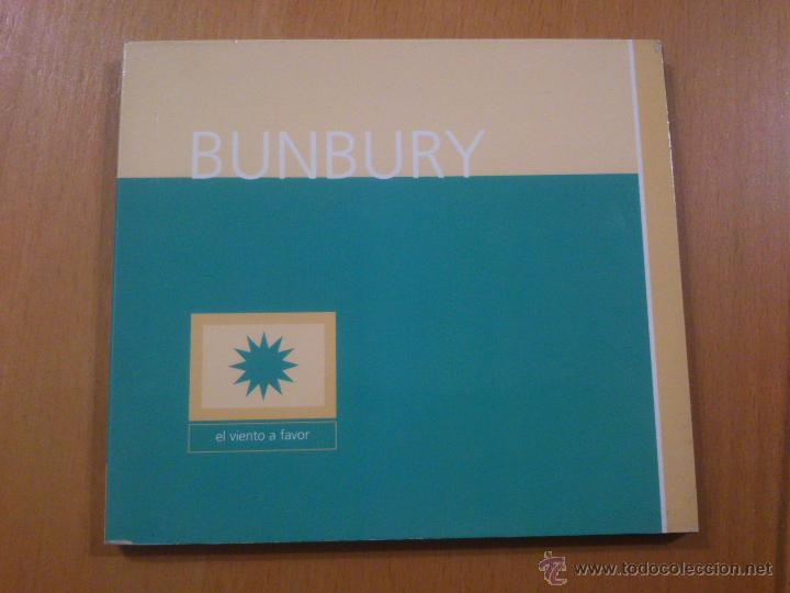 BUNBURY EL VIENTO A FAVOR CD EDICION AÑO 2000 (Música - CD's Rock)
