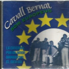CDs de Música: CD CAVALL BERNAT : SOM EUROPEUS ( HABANERAS & HAVANERES ) . Lote 131611913