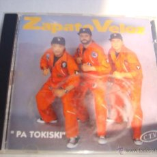 CDs de Música: ZAPATO VELOZ PA TOKISKI CD ALBUM AÑO 1993. Lote 46608793