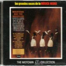 CDs de Música: CD MARTHA AND THE VANDELLAS : HEAT WAVE . Lote 46620554