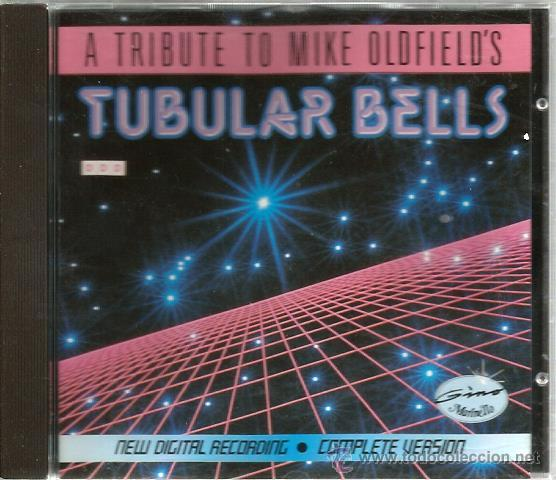 CD THE GINO MARINELLO SYNTHEZISER SECTION : TUBULAR BELLS ( A TRIBUTE TO MIKE OLDFIELD ) (Música - CD's New age)