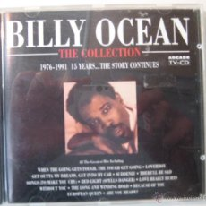 CDs de Música: CD BILLY OCEAN - THE COLLECTION. Lote 46630123