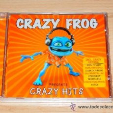 CDs de Música: CRAZY FROG PRESENTS CRAZY HITS - CD ALBUM. Lote 46634341