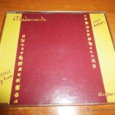 CDs de Música: MALAMENTE ZINGARA REMIXES COROS BUNBURY HEROES DEL SILENCIO CD SINGLE PROMO AÑO 2000 4 TEMAS. Lote 46649452