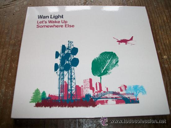 DIGIPACK WAN LIGHT - LET'S WAKE UP SOMEWHERE ELSE, usado segunda mano