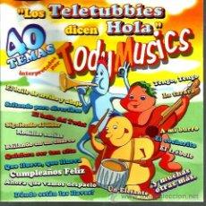 CDs de Música: CD LOS TELETUBBIES DICEN HOLA ( TODY MUSICS ) . Lote 46661527