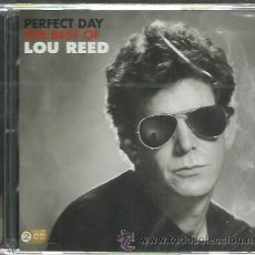 CDs de Música: LOU REED - PERFECT DAY - THE BEST OF LOU REED - CD DOBLE SONY 2009 NUEVO. Lote 46669763