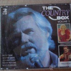 CDs de Música: THE COUNTRY BOX. 2 CD. Lote 46679970