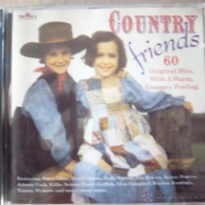 CDs de Música: COUNTRY FRIENDS. 2 CD. Lote 46693602