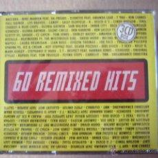 CDs de Música - 60 REMIXED HITS. 3 CD - 46694263