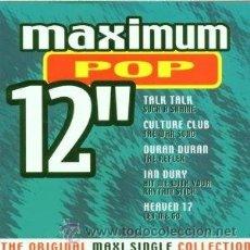 CDs de Música: MAXIMUM POP 12 - THE ORIGINAL MAXI SINGLE COLLECTION. Lote 46694710