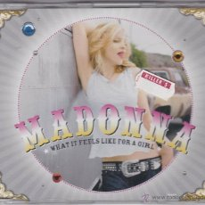 CDs de Música: MADONNA - WHAT IT FEELS LIKE FOR A GIRL. Lote 46708756