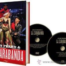 CDs de Música: JUAN PERRO & LA ZARABANDA * LIBRO+CD+DVD *LA TRADICIÓN MUSICAL AFROHISPANA (EDICIÓN ESPECIAL). Lote 152424156