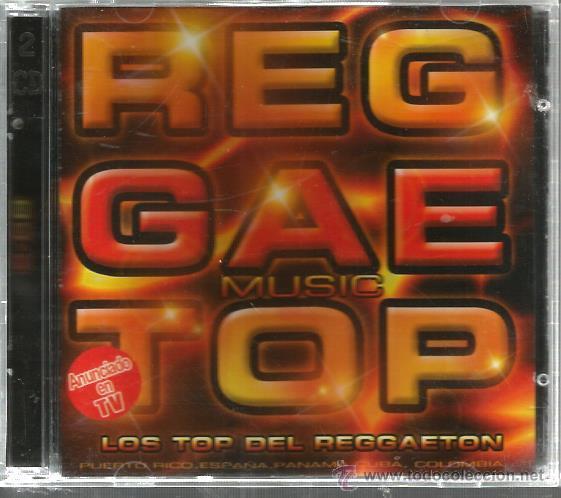 CD REGGAETOP ( LOS TOP DEL REGGAETON ) CHERRY, INTOCABLES, COLA LOCA, DESAFIO, DJ KUN, ETC (Música - CD's Reggae)