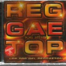 CDs de Música: CD REGGAETOP ( LOS TOP DEL REGGAETON ) CHERRY, INTOCABLES, COLA LOCA, DESAFIO, DJ KUN, ETC. Lote 46740733