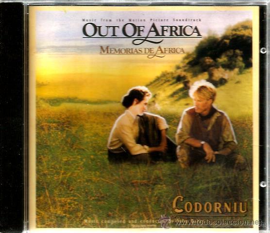 CD BSO JOHN BARRY : OUT OF AFRICA ( MEMORIAS DE AFRICA ) EDICION ESPECIAL PARA CODORNIU (Música - CD's Bandas Sonoras)